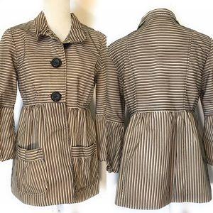 Vintage pinstriped jacket, Sz medium